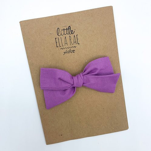 Amethyst Quincey Bow
