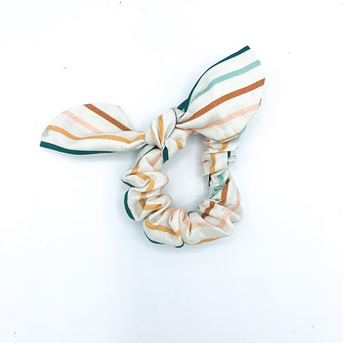 Juliet Stripe Scrunchie