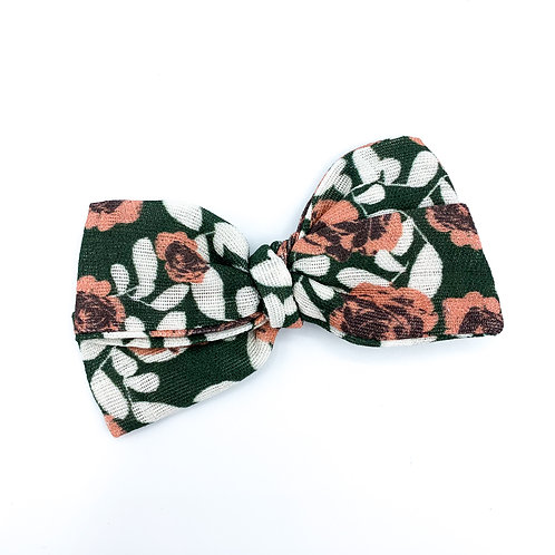 Hunter Rose Garden Gauze Bow