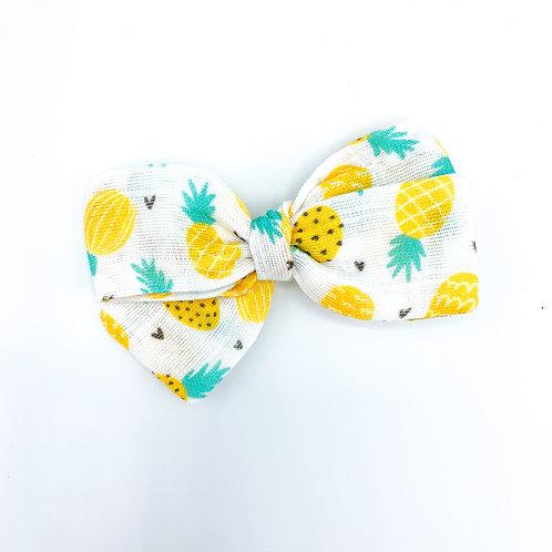Pineapple Gauze Bow