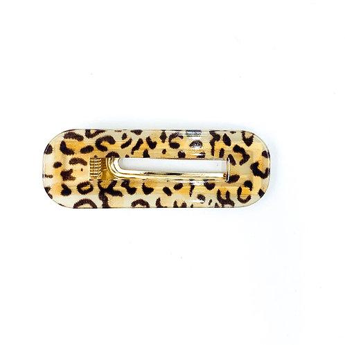 Leopard Square Clip