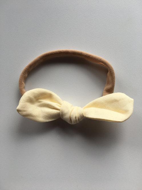 Cream Remi Bow