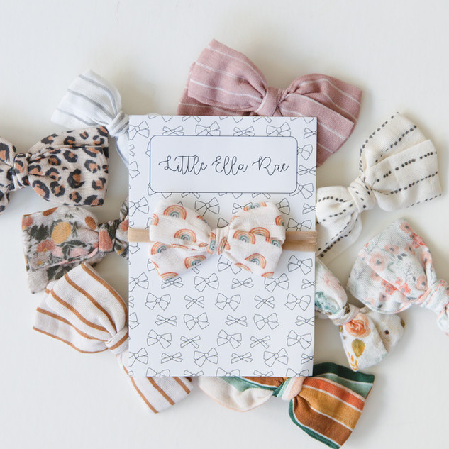 Handmade Baby Bows