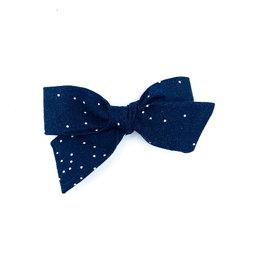 Navy Dot Quincey