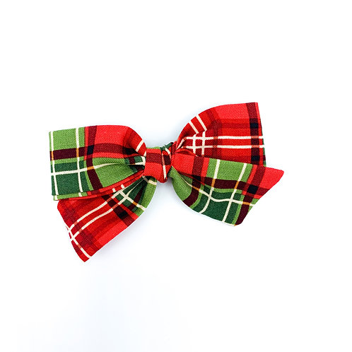 Bright Holiday Plaid Quincey