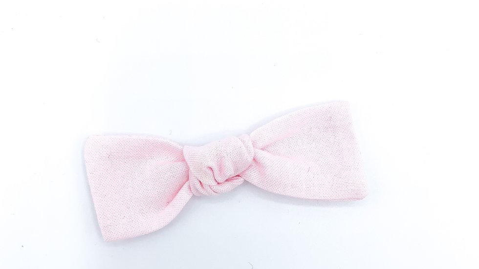 Baby Pink Essie Bow