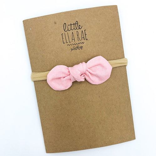 Petal Pink Remi Bow