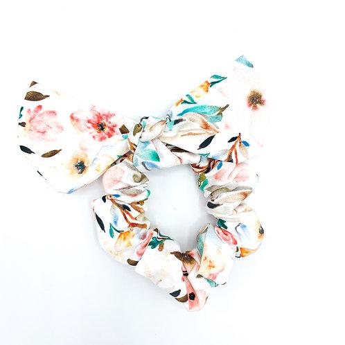 Kauai Floral Scrunchie