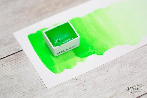 MOLOKA'I neon green watercolor / honey based handmade paint / Artisanal wat