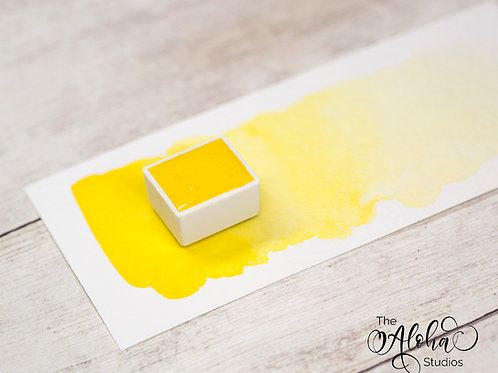 MANGO (medium cadmium yellow) / honey-based lightfast watercolor
