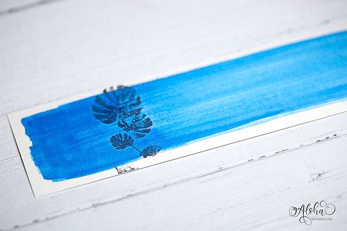 Wave rider (cerulean blue)