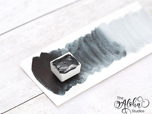 STORM Payne's gray watercolor paint / honey based artisanal paint / lightfast /