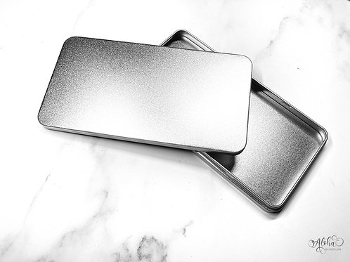 Silver tin for 40 half pans