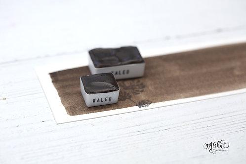 KALEO (Van Dyke / Kassel brown)/ handmade / lightfast