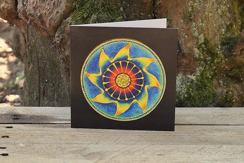 Carte Mandala - Méditation