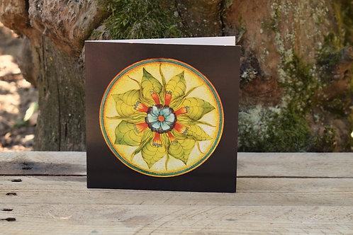 Carte Mandala - Créativité