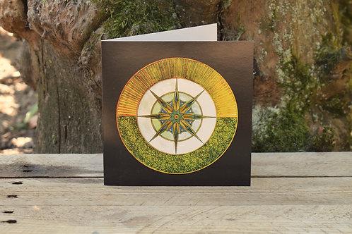 Carte Mandala - Légèreté