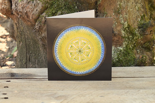 Carte Mandala - Paix profonde