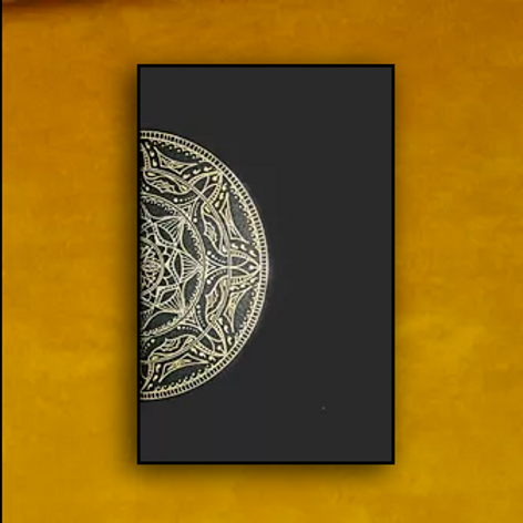 "Carnet Mandala ""Partage"""