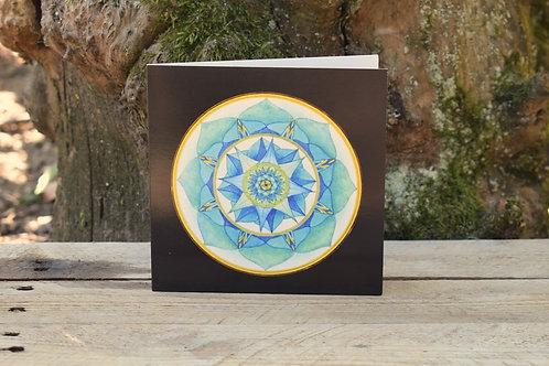 Carte Mandala - Harmonie