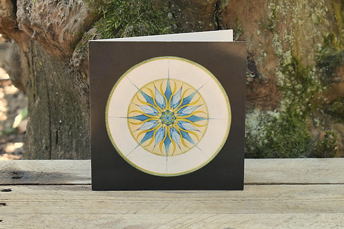 Carte Mandala - Protection