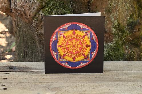 Carte Mandala - Équanimité
