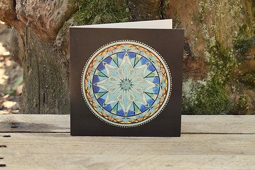 Carte Mandala - Clarté d'esprit
