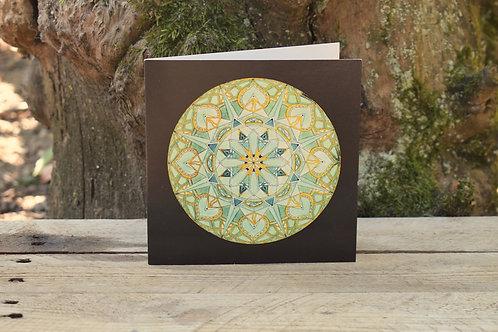 Carte Mandala - Sagesse