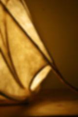 lampe écologique - création déco