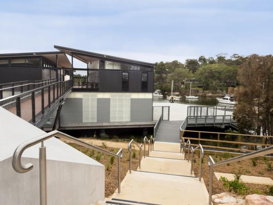 Sydney Uni Boatshed
