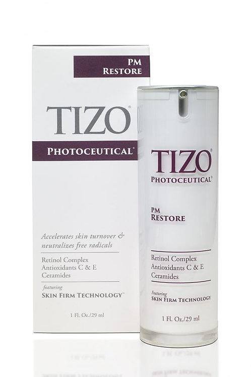 purple and white pump anti-aging reduce fine lines improve skin texture retinol complex neutralizes free radicals