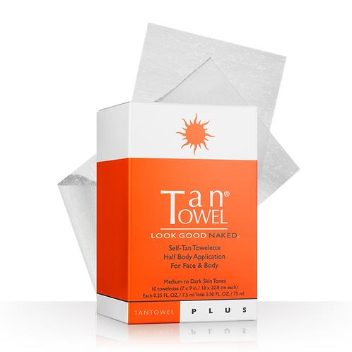 orange and white box sunshine self tanner