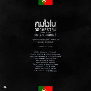 NUBLU ORCHESTRA CONDUCTED BY BUTCH MORRIS – LIVE IN LISBON