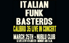 CALIBRO 35 LIVE!!!!!!