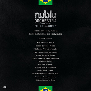 NUBLU ORCHESTRA CONDUCTED BY BUTCH MORRIS – LIVE IN SAO PAULO
