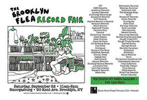 Brooklyn Flea Record Fair – September 22nd!