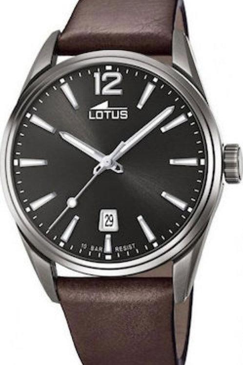 Ανδρικό ρολόι Lotus με λουρί δερμάτινο L18685/1
