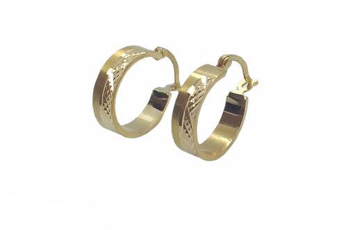 Χρυσά σκουλαρίκια Κ14 κρίκοι