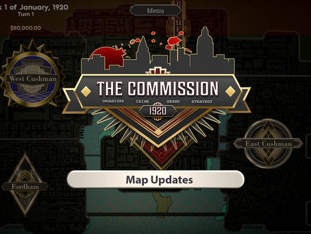 The Commission 1920: Map Updates