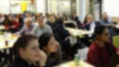 Members of NYC Scrum User group attending Dana Pylayeva's workshop