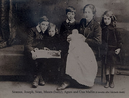 Agnes-Mallin-and-her-children-six-months