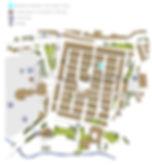 Valbonne map / plan Valbonne / garbage / poubelles / tri sélectif / trash /parking Valbonne / maison valbonne / plan / dessin
