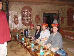 Haveli-dinner-local-family-Jaipur-thing-to-do-Jaipur-Udaipur-Rajasthan-travel-company-offbeat-vedic-walks