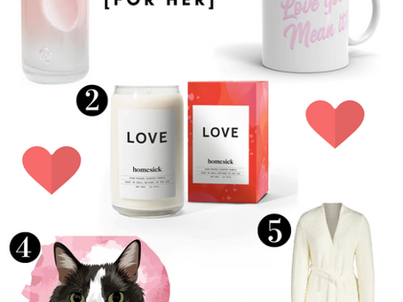 Valentine's Day 2020 Gift Guide for Him & Her
