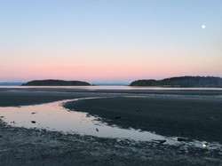 Stories Beach-Pink Sky