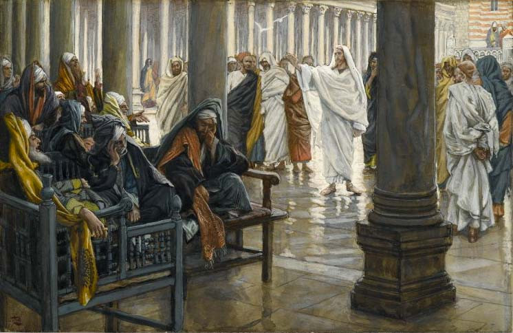 Woe Unto You Scribes and Pharisees, James Tissot