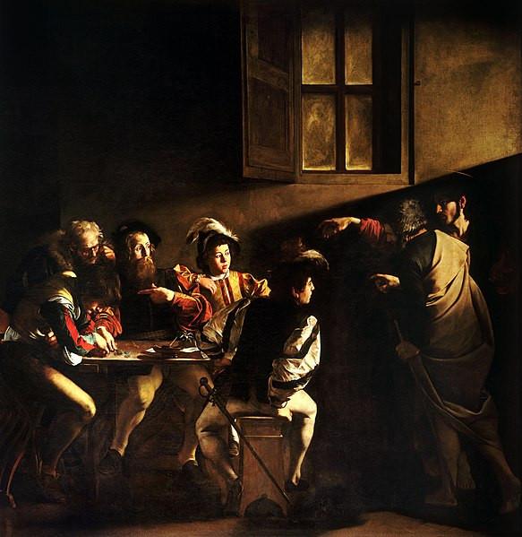 The Calling of Saint Matthew, Caravaggo