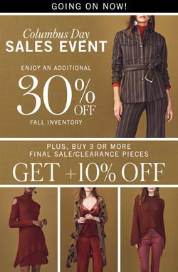 columbus day sales event_Sunday
