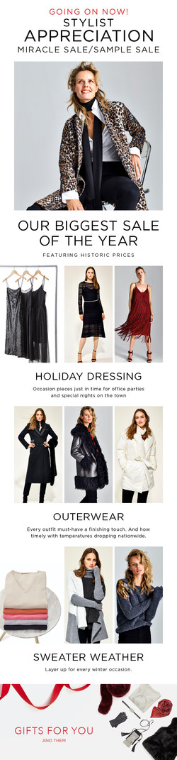 stylist sale email