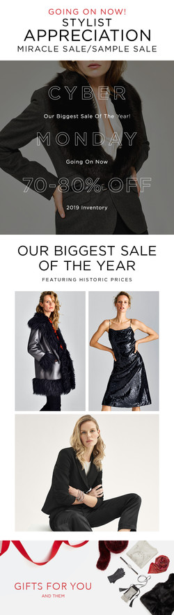 stylist sale email cm